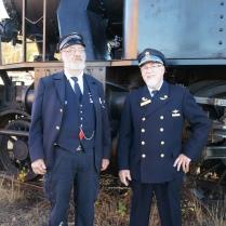 Kalle Björck och Bertil Adelind poserar i katrineholm 2013
