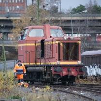 SÅS T21 98 växlar i Västberga 2013