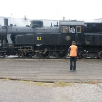 S1 1921 på vändskivan i Katrineholm 2012