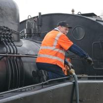 Stanislaw fyller vatten i S1 1921