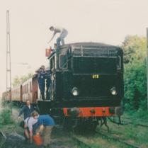 N1173 får kol i Enskede 1990