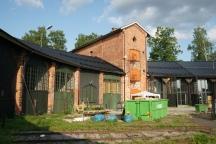 Under renovering . Foto: Lasse Nelson