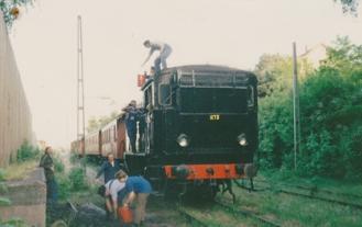 Kolning av N1173 på Slakthuset 1992