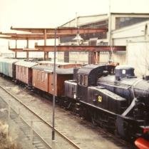 Trafiktåget i Västberga 1989
