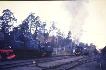Växling i Västberga 1976