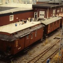 DF 2877 på Slakthuset 1988