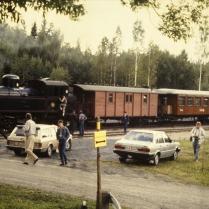 SÅS vagnar i Pershyttan 1988
