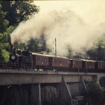 Resandetåget på Saltsjöbanan 1996