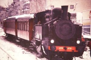 N 1173 på Slakthuset Lucia 1991