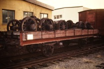 Reservaxlar på Pm 61 i Västberga 1988