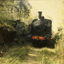 N 1173 på Slakthusbanan 1988