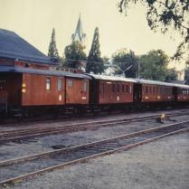 SÅS-tåget i Nora 1988