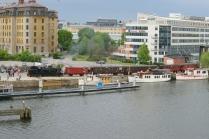 På Liljeholmskajen i maj 2015