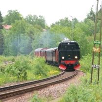 Backgång mot Södertälje vid Tullinge