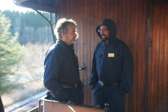 Håkan och Jocke var plattformsvakter