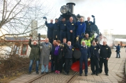 Tågpersonalen efter söndagens resa