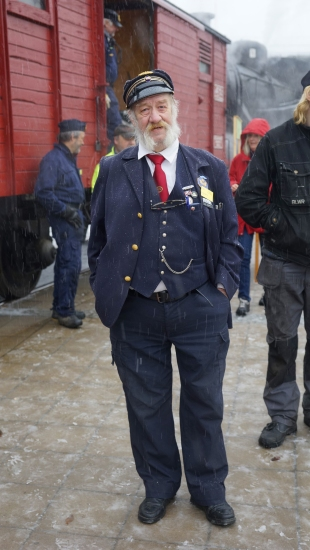 Kalle Björck, ständig konduktör