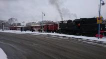 Avgång från Liljeholmen till Lucia 2916