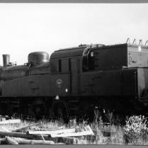 Här har S1 1921 fångats på bild i Norrköping 1976. Foto: Okänd