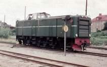 T23 113 när den var smalspårig, då Tp 3504